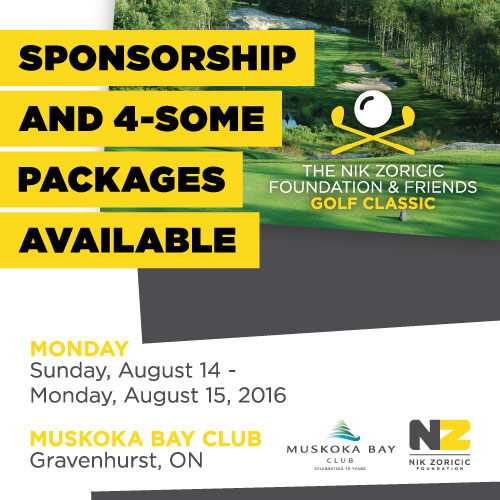 The Nik Zoricic Foundation & Friends Golf Classic